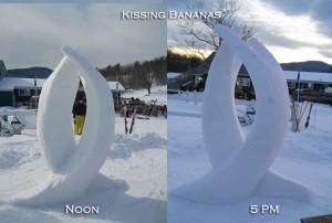 Kissing Bananas